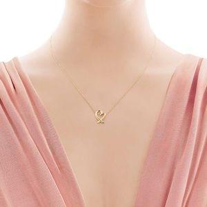 Tiffany & Co Paloma Picasso Gold Loving Heart